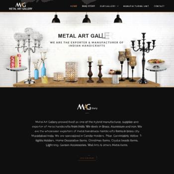 Metalartgallery.in thumbnail