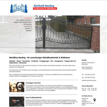 Metallbau-neuling.de thumbnail