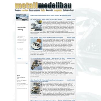 Metallmodellbau.de thumbnail