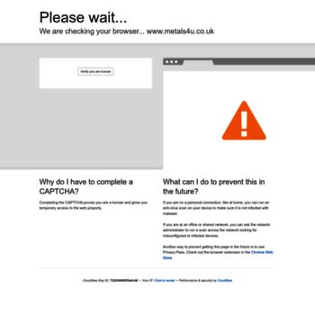 metals4u co uk at WI  metals4U - UK Online Metal, Aluminium