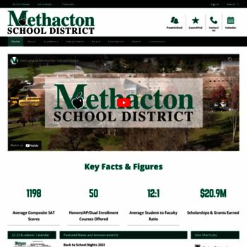 Methacton.org thumbnail