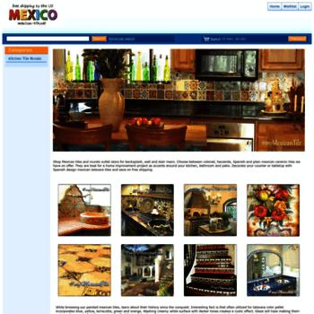 Mexican-tile.net thumbnail