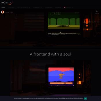mgalaxy com at WI  mGalaxy   Arcade and gaming console