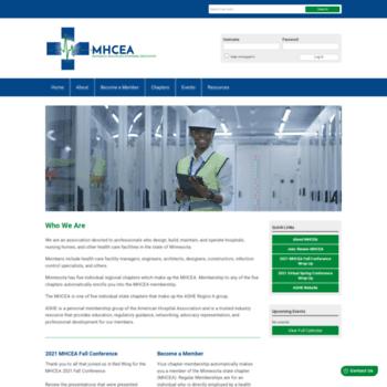 Mhcea.org thumbnail