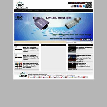Mic-led.eu thumbnail