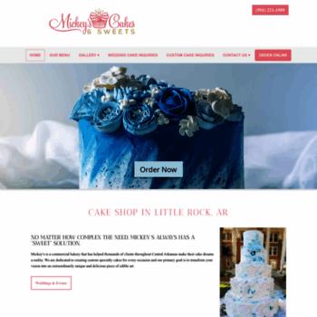 Prime Mickeyssweets Com At Wi Bakery In Little Rock Ar Wedding And Funny Birthday Cards Online Benoljebrpdamsfinfo