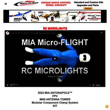 micro-flight com at WI  MIA Micro-FLIGHT The one and only