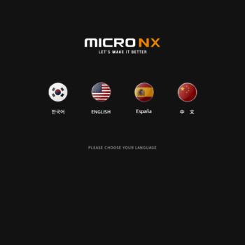 Micronx.co.kr thumbnail
