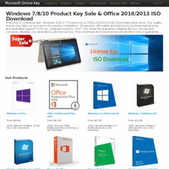 microsoftonlinekey com at WI  Windows 7/8/10 Product Key