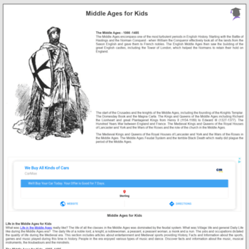 Middle-ages.org.uk thumbnail