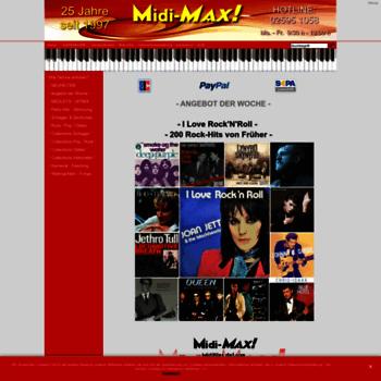 Midi-file.de thumbnail