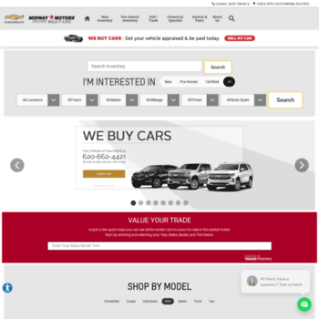 Car Dealerships In Hutchinson Ks >> Midwaymotorshutchinson Com At Wi Midway Motors Chevrolet In