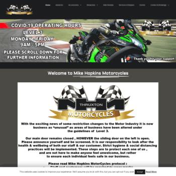 Mikehopkinsmotorcycles.co.za thumbnail