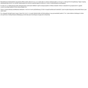 Веб сайт milemtali.tk