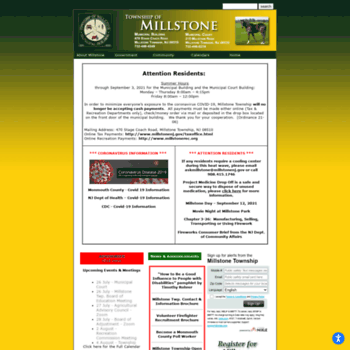 Millstonenj.gov thumbnail