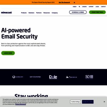 Mimecast.co.uk thumbnail