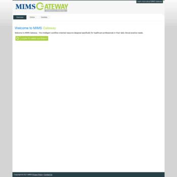 Mimsgateway.com.my thumbnail