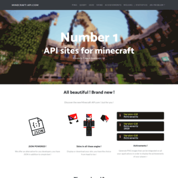minecraft-api com at WI  Minecraft-api com | Accueil