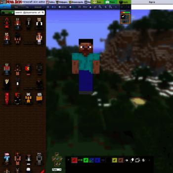 minecraft novaskin me at WI  Nova Skin - Minecraft Skin Editor