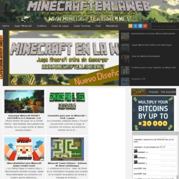 Minecraftenlaweb.net thumbnail