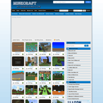 Minecraftnodownload.com thumbnail