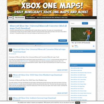 Download minecraft maps xbox one | Minecraft Xbox one maps download ...