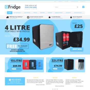 Minifridge.co.uk thumbnail