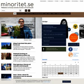 Minoritet.se thumbnail