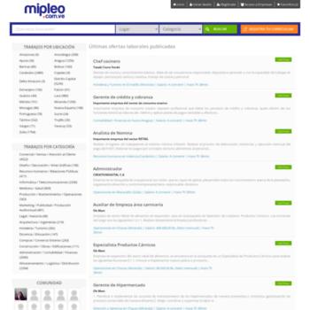 Mipleo.com.ve thumbnail