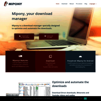 mipony download manager free download