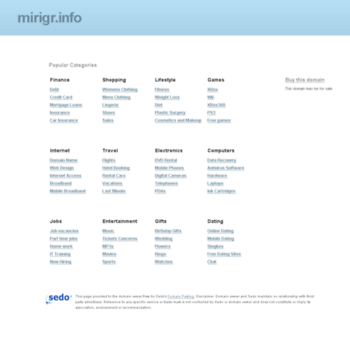 Mirigr.info thumbnail