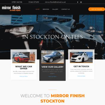 Mirrorfinishstockton.co.uk thumbnail
