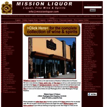 Missionliquors.com thumbnail