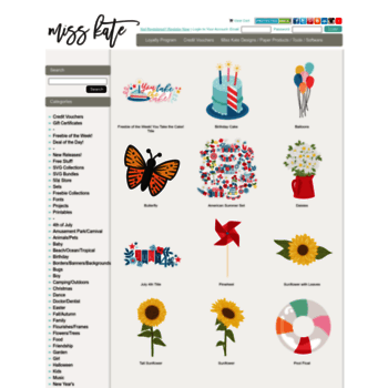 sites like miss kate cuttables