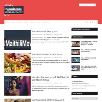 Mithilanchalweb.in thumbnail