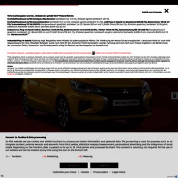 Mitsubishi-motors.de thumbnail