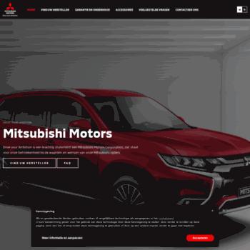 Mitsubishi.be thumbnail