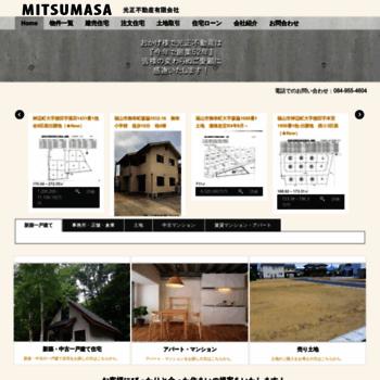 Mitsumasa.co.jp thumbnail