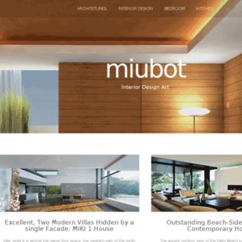 miubot com at WI  miubot - Excellent, Two Modern Villas Hidden by a