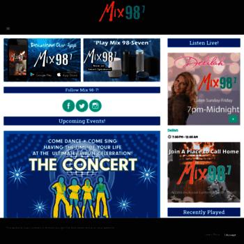 Mix987.com thumbnail