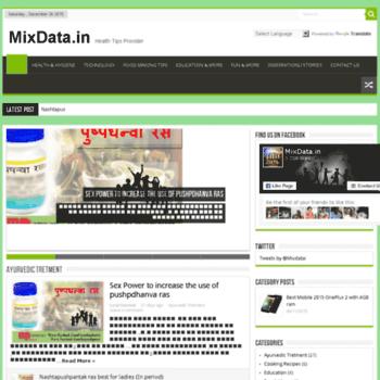 Mixdata.in thumbnail