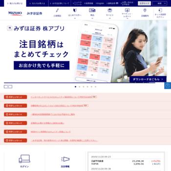 Mizuho-sc.com thumbnail
