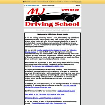 Mjdrivingschool.co.uk thumbnail