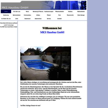 Mks-hausbau.de thumbnail