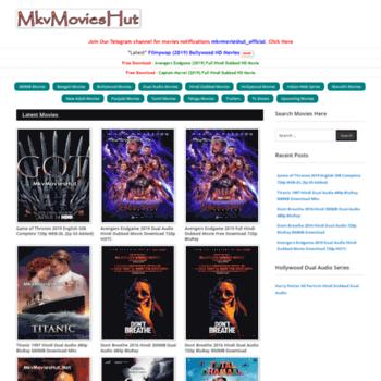 mkvmovieshut me at WI  MkvMoviesHut Me - 720p Movies, 480p