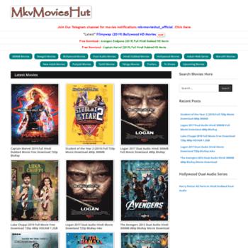 mkvmovieshut net at WI  MkvMoviesHut Me - 720p Movies, 480p