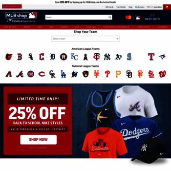 9fc4d738 mlbshop.com at WI. MLBshop.com - Official Shop of Major League ...