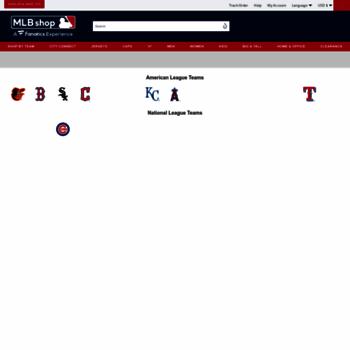 mlbshopeurope.com at WI. MLB Shop Europe  5b6700a75