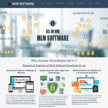 Mlmsoftware.net.in thumbnail