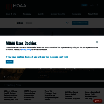 Moaa.org thumbnail
